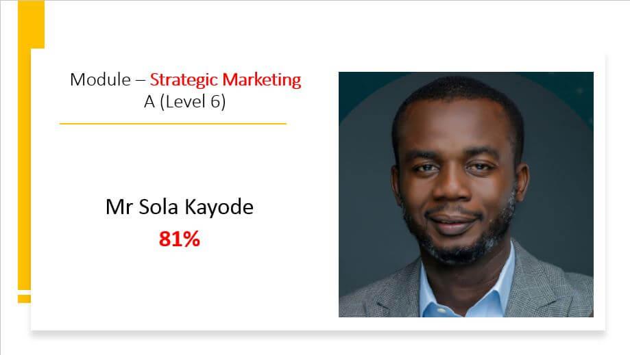 CIM Strategic Marketing